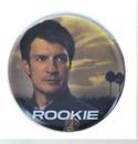 Ata Boy ATA-BOY73351M-C The Rookie Poster 1.25 Inch Collectible Button Pin
