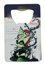 Adventure Trading AVT-ADTCBA13036-C DC Comics Bombshells Poison Ivy Credit Card Bottle Opener