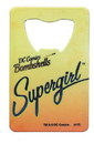 Adventure Trading AVT-ADTCBA13039-C DC Comics Bombshells Supergirl Credit Card Bottle Opener