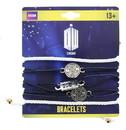 BBC Doctor Who Cord Charm Bracelets, Set of 5