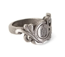 BBC Doctor Who Small Scroll Deco Logo Ring