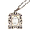 BBC Doctor Who Antique Frame Necklace
