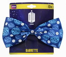 BBC BBC-DWHOSRBTLG-C Doctor Who Seal of Rassilon Hair Bow Clip, Dark Blue