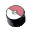 Body Vibe Pokemon Pokeball Stainless Steel Slider Bracelet Charm