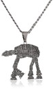 Body Vibe Star Wars AT-AT Pendant Necklace