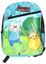 Bioworld BIW-34802-C Adventure Time With Finn And Jake Zipper Backpack