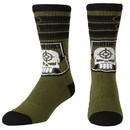 Bioworld BIW-CR48GQSSQ-C Suicide Squad Task Force X Unisex Crew Socks