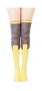 Bioworld BIW-GT41EVBTM-C DC Comics Batgirl Women's Sheer Costume Tights