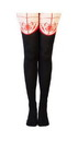 Bioworld BIW-GT41F2USM-C Marvel Spider-Man Women's Sheer Costume Tights