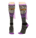 Bioworld BIW-KH4B0STMT-C Teenage Mutant Ninja Turtles Shredder Caped Women's Knee High Socks