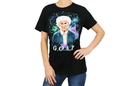 Bioworld BIW-TS8A02GDGS-C The Golden Girls Exclusive Sophia G.O.A.T Graphic Black T-Shirt S