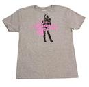 Bioworld Disney Hannah Montana Hot Pink Logo Grey T-Shirt - X-Large