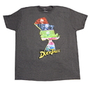 Bioworld Disney Duck Tales Characters Charcoal T-Shirt - Large
