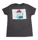 Bioworld Phineas and Ferb Perry Platypus Adult Grey T-Shirt - Medium