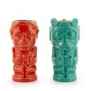 Beeline Creative Geeki Tikis Star Wars Han Solo & Greedo Mugs - Star Wars Tiki Style Ceramic Cups