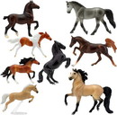 Breyer Animal Creations BYR-6058-C Breyer Stablemates 1:32 Deluxe Horse Collection 8 Model Horses