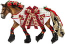 Breyer Animal Creations BYR-700123-C Breyer 1:9 Scale 2020 Holiday Model Horse, Yuletide Greetings