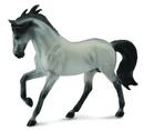 Breyer Animal Creations BYR-88464-C Breyer 1:18 CollectA Model Horse: Grey Andalusian Stallion