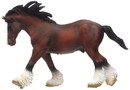 Breyer Animal Creations BYR-88621-C Breyer 1:18 Corral Pals Horse Collection: Bay Clydesdale Stallion