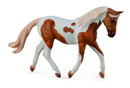 Breyer Animal Creations BYR-88692-C Breyer 1:18 CollectA Model Horse: Palomino Pinto Mare