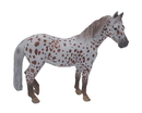 Breyer Animal Creations BYR-88750-C Breyer 1:18 CollectA Model Horse: Chestnut Leopard British Spotted Pony Mare