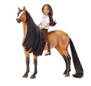 Breyer Animal Creations BYR-9203-C Spirit Riding Free 1:12 Classics Model Horse Set: Spirit & Lucky