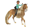 Breyer Animal Creations BYR-9205-C Spirit Riding Free 1:12 Classics Model Horse Set: Chica Linda & Prudence