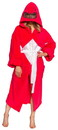 Costume Agent CAG-02370-C Power Rangers Adult Costume Robe, Red