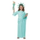 California Costumes Statue of Liberty Child Costume