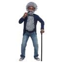 California Costumes Grandpa Child Costume Wig & Pipe