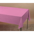 Creative Converting Touch Of Color Plastic Tablecover Candy Pink