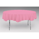 Creative Converting Touch Of Color Octy- Round Plastic Tablecover Candy Pink