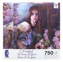 Ceaco CEA-299706TRIM-MID-C Fairyland Midnight Rose 750 Piece Jigsaw Puzzle