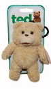Commonwealth Toys CMN-94252-C Ted The Movie Plush Backpack Clip With Sound R Version
