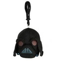 Commonwealth Toys Angry Birds Star Wars Plush Backback Clip On: Darth Vader