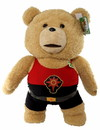 Commonwealth Toys Ted 2 Talking Ted In Flash Outfit 24 Inch Plush Teddy Bear - Explicit