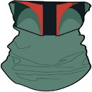 Star Wars Boba Fett Neck Gaiter, One Size