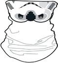 Star Wars Stormtrooper Neck Gaiter, One Size
