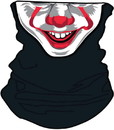 IT Pennywise Neck Gatier, One Size