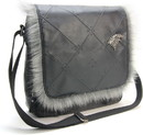 A Crowded Coop CRC-GOTL429-C Game of Thrones House Stark Messenger Bag
