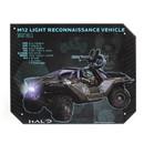A Crowded Coop CRC-HLOL210-C Halo Warthog Specs Tin Sign