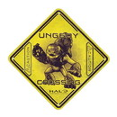 A Crowded Coop Halo Unggoy Crossing Tin Sign