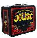 A Crowded Coop CRC-MDWO483-C Midway Classic Arcade Tin Lunch Box, Joust