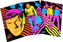 A Crowded Coop CRC-STOL234-C Star Trek TOS Black Light Posters, Set of 3