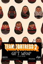 Crowded Coop CRC-TF372-C Team Fortress 2 Gift Wrap 27