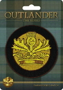 Dark Horse Comics Outlander Crown & Thistle 3-Inch Embroidered Fabric Patch