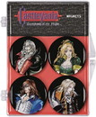 Dark Horse Comics DHC-3005-727-C Castlevania Symphony Of The Night Magnet 4-Pack