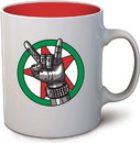 Dark Horse Comics DHC-3006-693-C Cyberpunk 2077 Johnny Silverhand Ceramic Coffee Mug