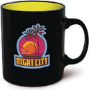 Dark Horse Comics DHC-3006-694-C Cyberpunk 2077 Night City Ceramic Coffee Mug