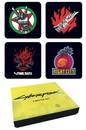 Cyberpunk 2077 4 Piece Coaster Set